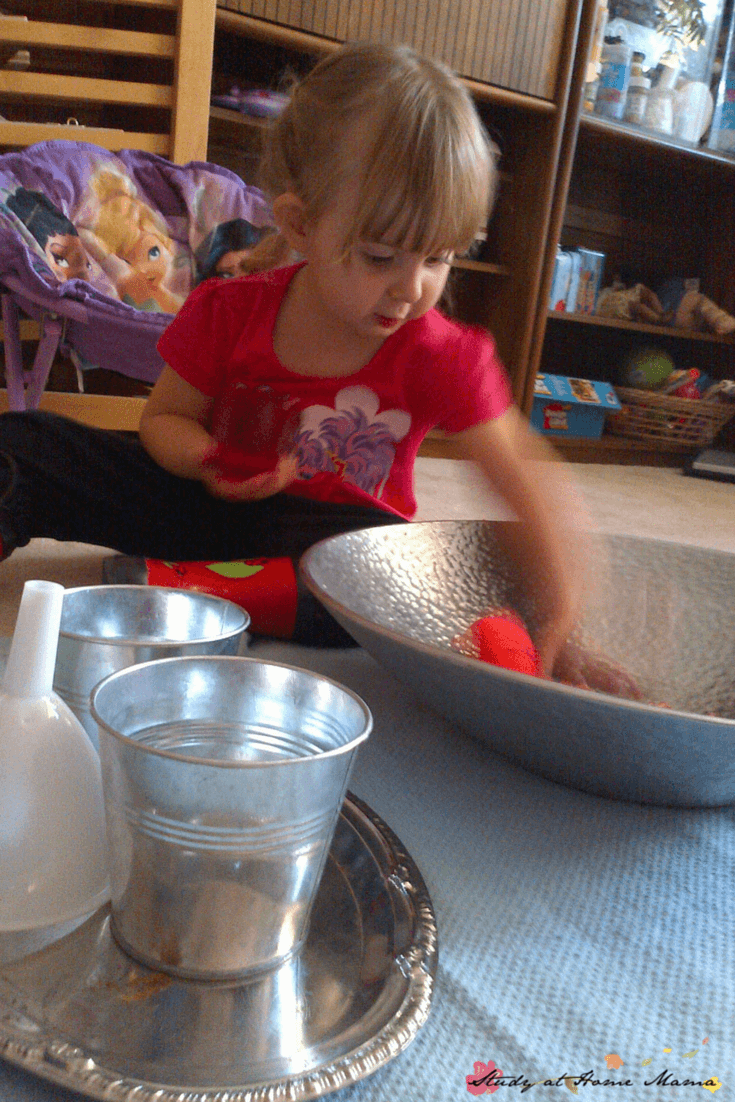 """Exploring a """"Angry"""" Sensory Bin teaching how to emotionally regulate when angry"""