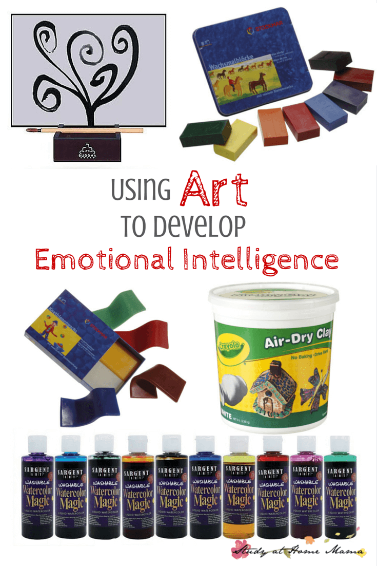 Using Art to Develop Emotional Intelligence. A psychologist weighs in with her favourite art materials for kids