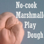 No-Cook Marshmallow Playdough