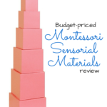 Montessori Materials Review: Sensorial Part One