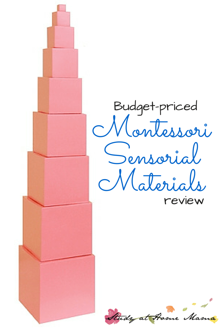 Budget-priced Montessori Sensorial Materials Review
