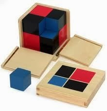 The Binomial Cube, Explained by Study-at-Home Mama #montessori