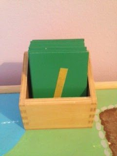 Montessori Math Materials Review by Study-at-Home Mama #sandpapernumbers