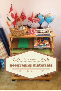Montessori Materials Review (Geography)