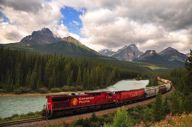 Canadian Pacific in the Canadian Rockies, Bill Gracey