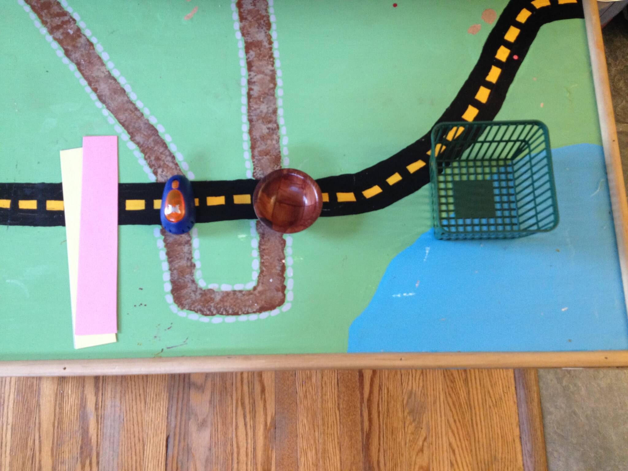insect shape punch-outs at Study-at-Home Mama