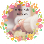 in the kids kitchen