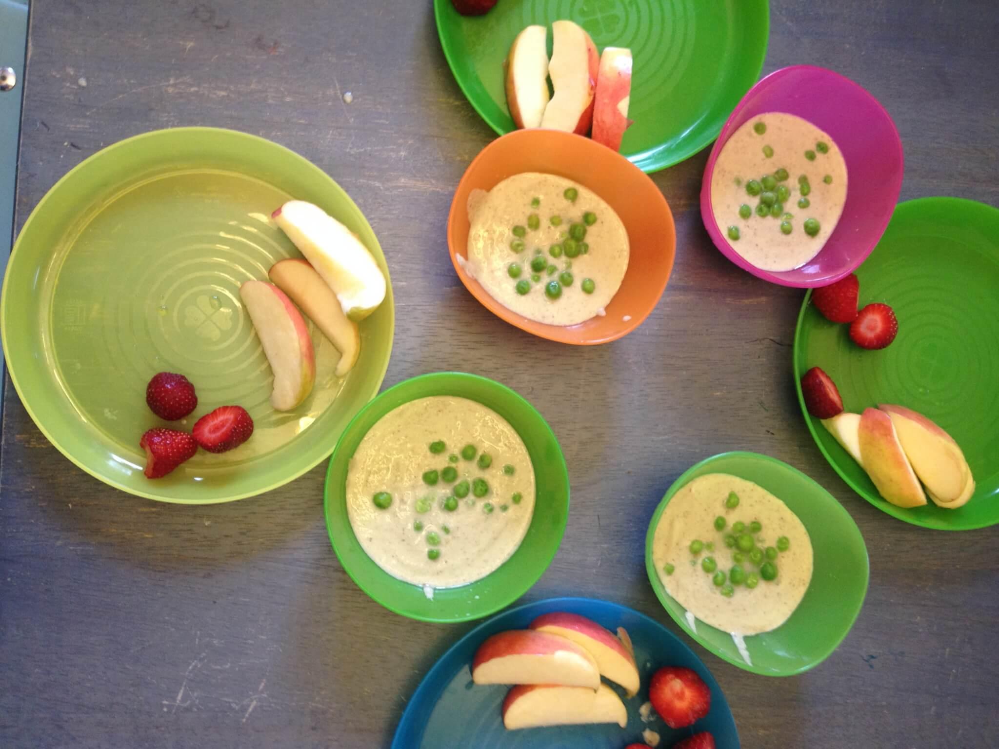 tennis lunch idea for preschoolers