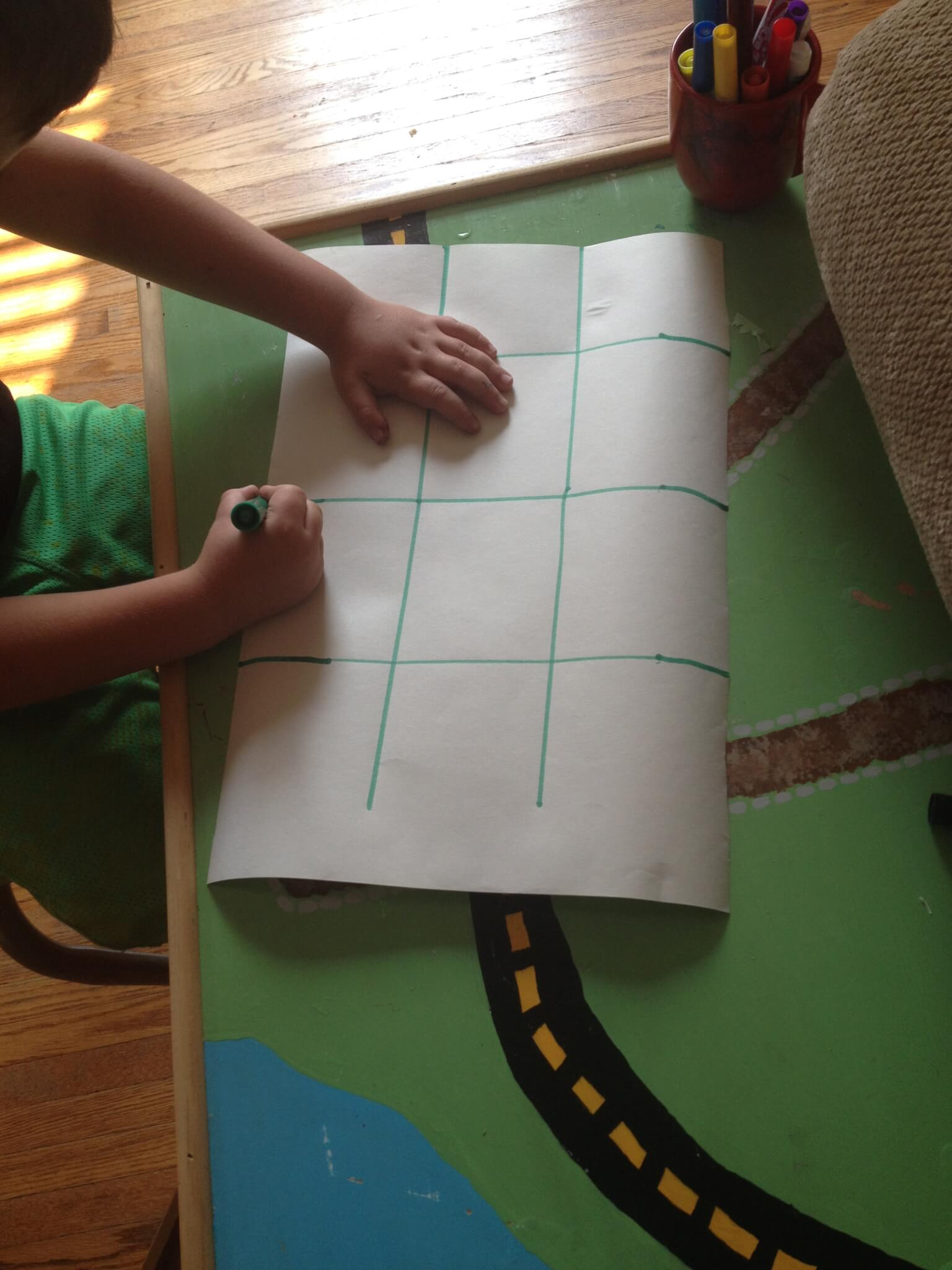 graphing muffins at Study-at-Home Mama