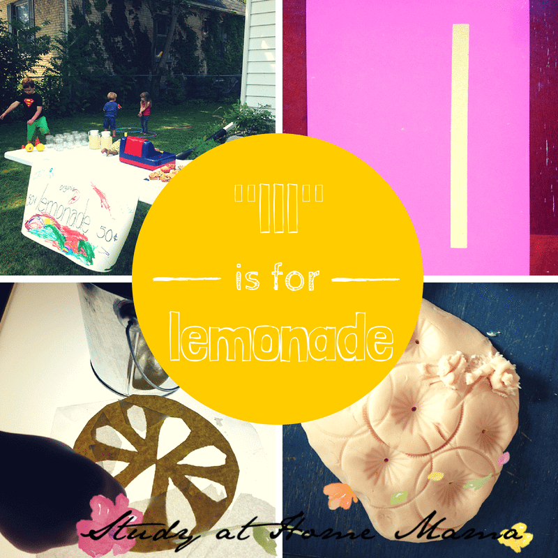 lll is for lemonade at Sugar, Spice and Glitter #montessori #phenomes
