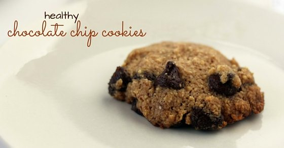 Kids' Kitchen: healthy chocolate chip cookie with tahini and brown butter. Gluten-free, processed-sugar free, and perfect as a paleo dessert - these healthy chocolate chip cookies are a healthy dessert that you can feel good about indulging in!