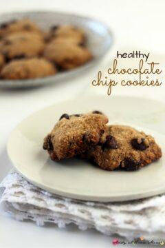 Kids Kitchen: Healthy Chocolate Chip Cookies
