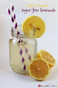 Kids' Kitchen: Sugar-free Lemonade Recipe