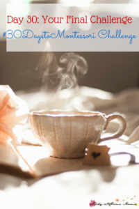 Day 30: Your Final Challenge - Take a Moment for Yourself