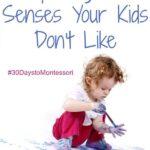 Exploring the Senses Your Kids Don't Like