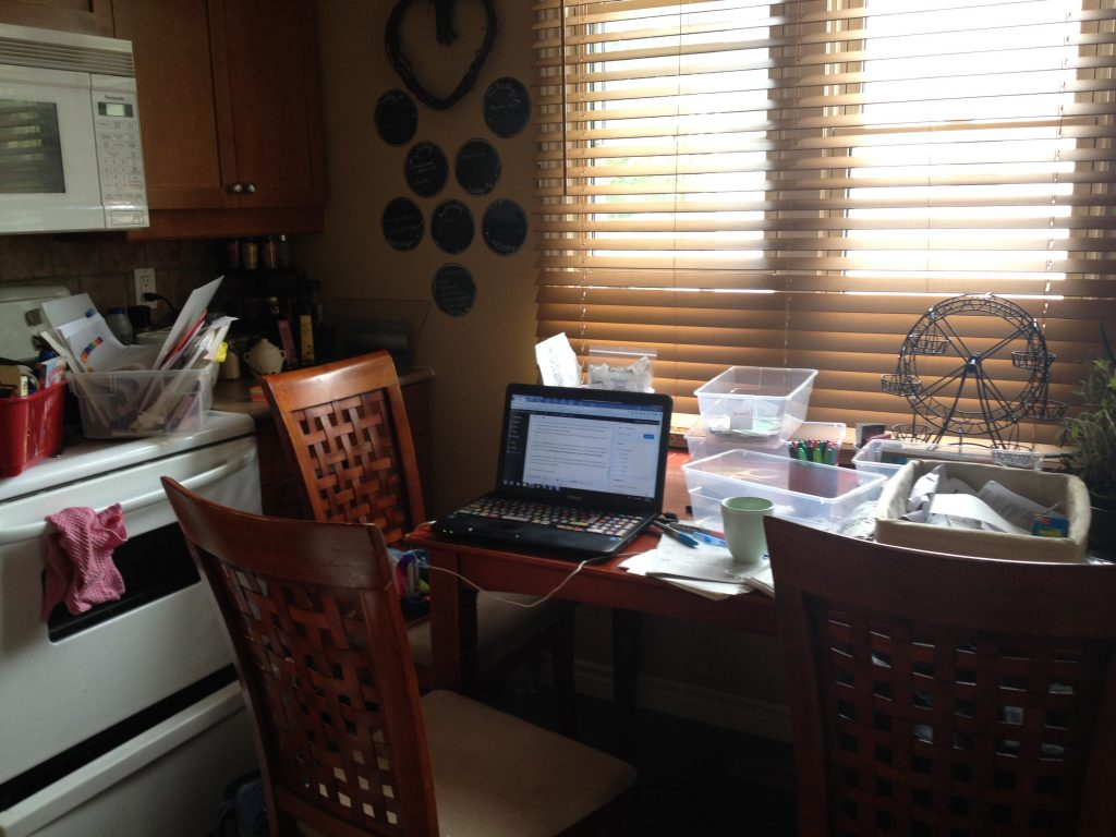 Dealing with the clutter #30daystoMontessori Challenge