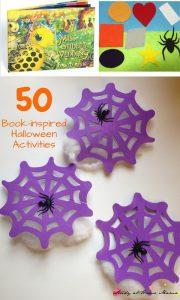 50 Book-inspired Halloween Activities