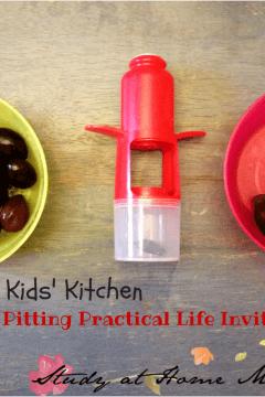 Kids Kitchen: Olive Pitting