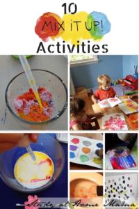 10 Mix It Up Activities