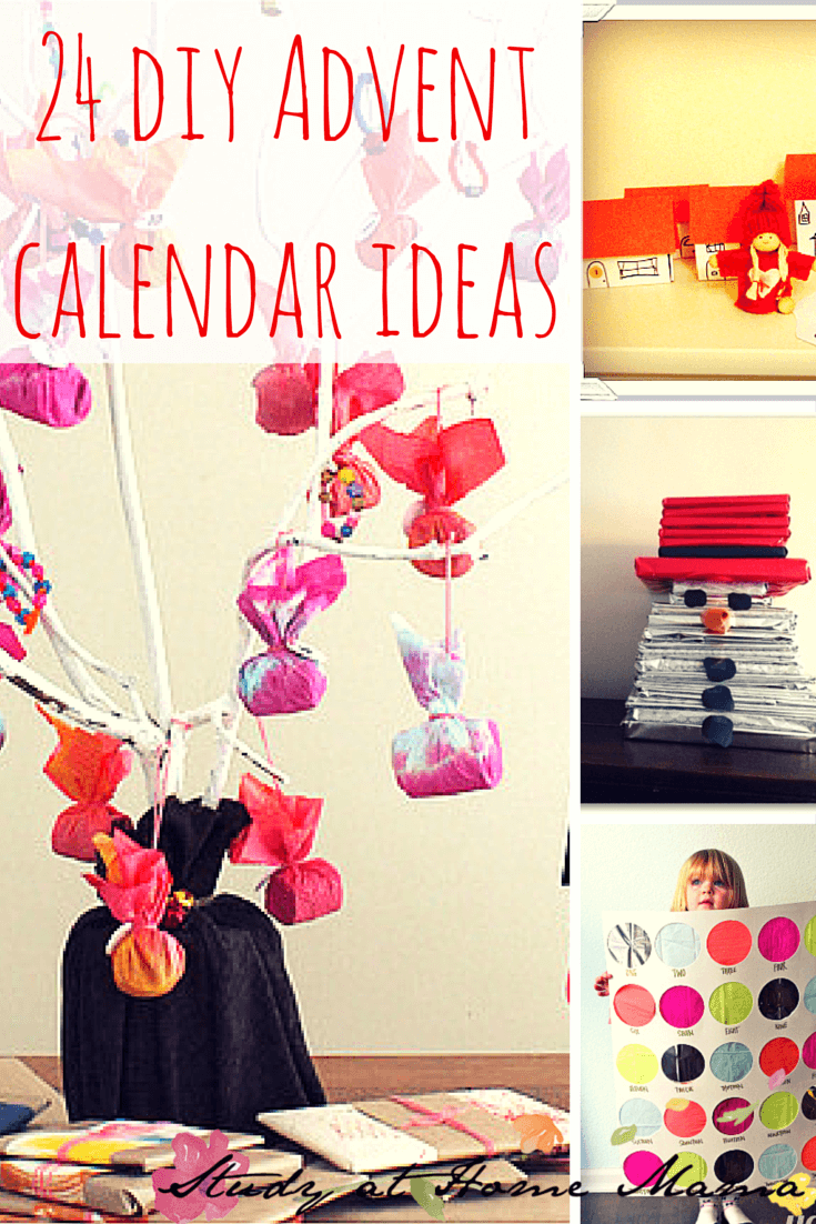 24 DIY Advent calendar ideas