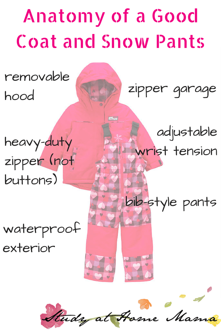 Anatomy of a Good Coat and Snow Pants