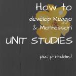 How I Develop Unit Studies