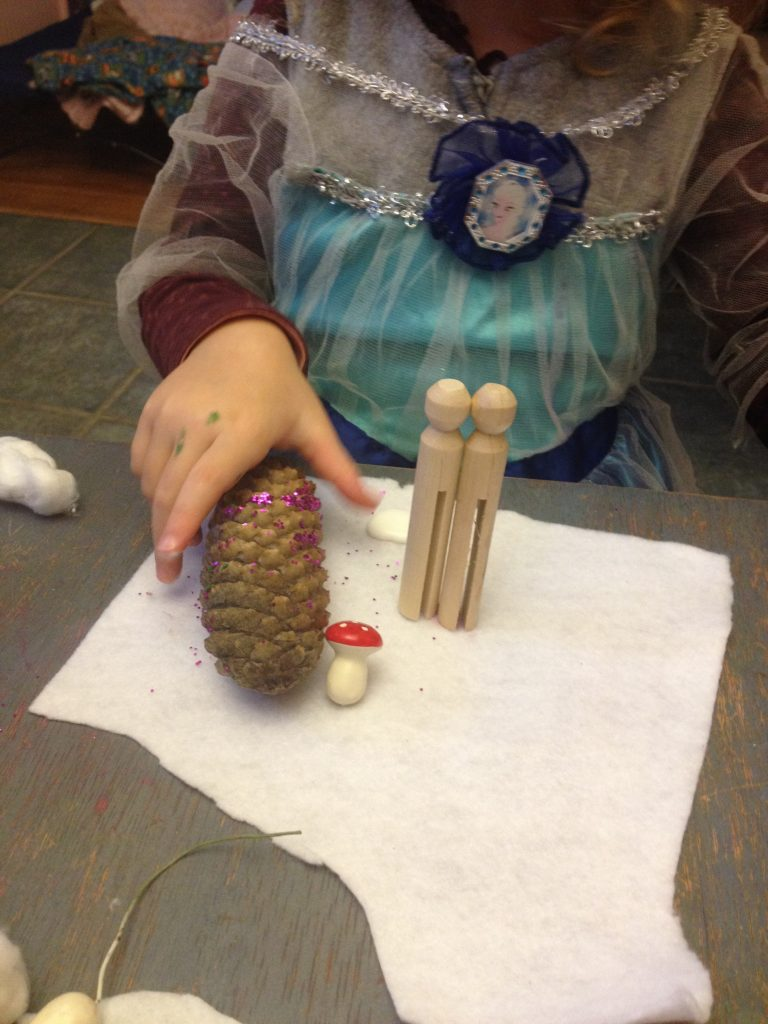 frozen winter scene -- a reggio provocation