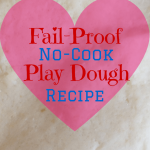 Fail-proof, No-cook Play Dough Recipe