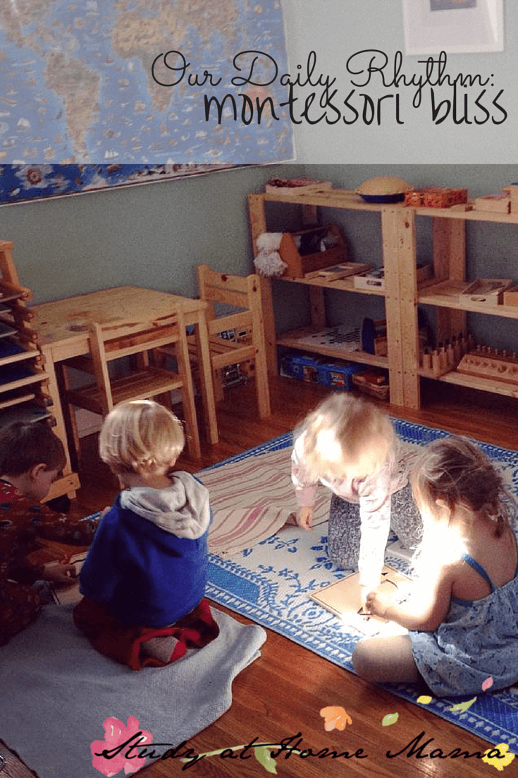 Our Daily Rhythm: Montessori Bliss