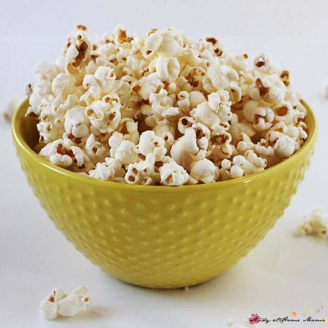 Can popcorn be a full meal? How to make a homemade cheesy popcorn that is incredibly healthy and contains many of your daily nutritional needs - an easy, healthy snack recipe that your kids will love - why this cheesy popcorn will make you feel like a rockstar mom!
