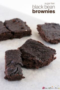 Sugar-Free Black Bean Brownie Recipe