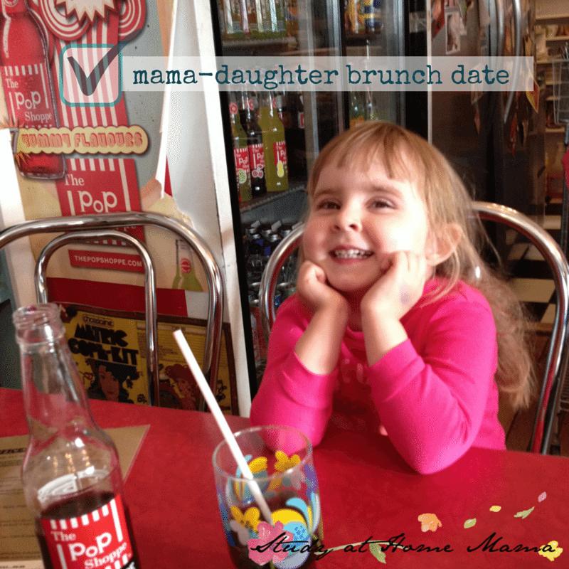 mama-daughter brunch date
