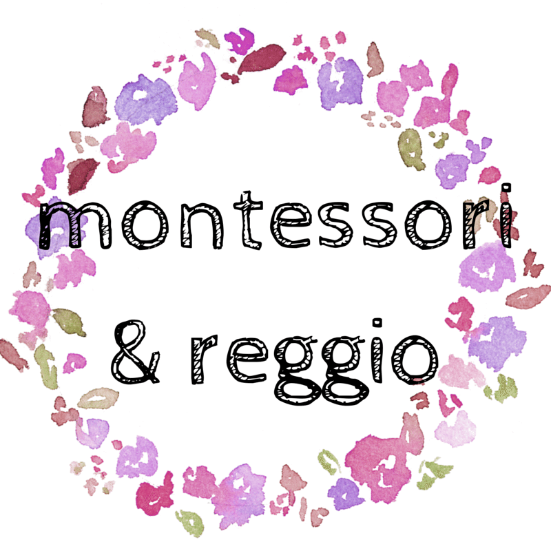 Montessori & Reggio -- all learning posts on study at Home Mama