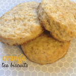 Orange Tea Biscuits