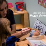 Our Peace Corner: Preschool Update (Top Post from 2014)