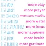 Striving for Less