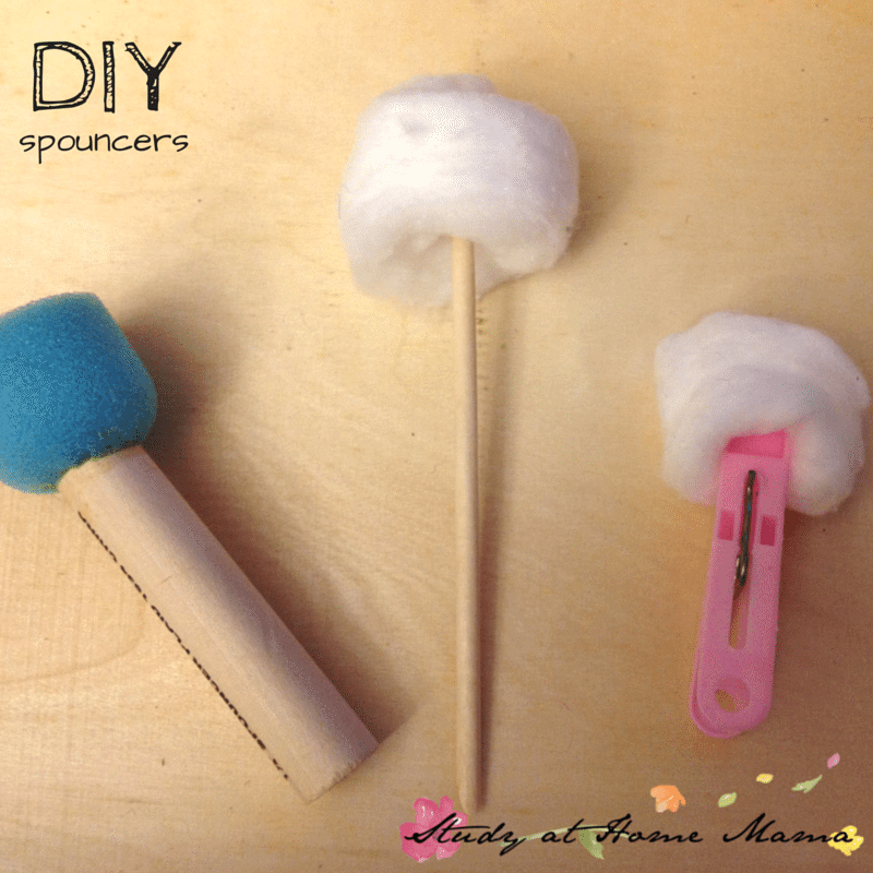 5 Ways to Play with Cotton Balls: DIY Spouncers