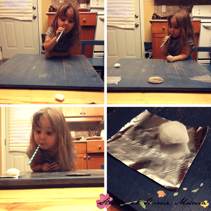 5 Ways to Play with Cotton Balls: Cotton Ball Racing and Control of Breath