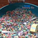 Cereal Colour-Sorting Sensory Bin
