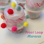 Upcycle Froot Loops Maracas