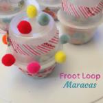 Upcycle Froot Loops Maracas