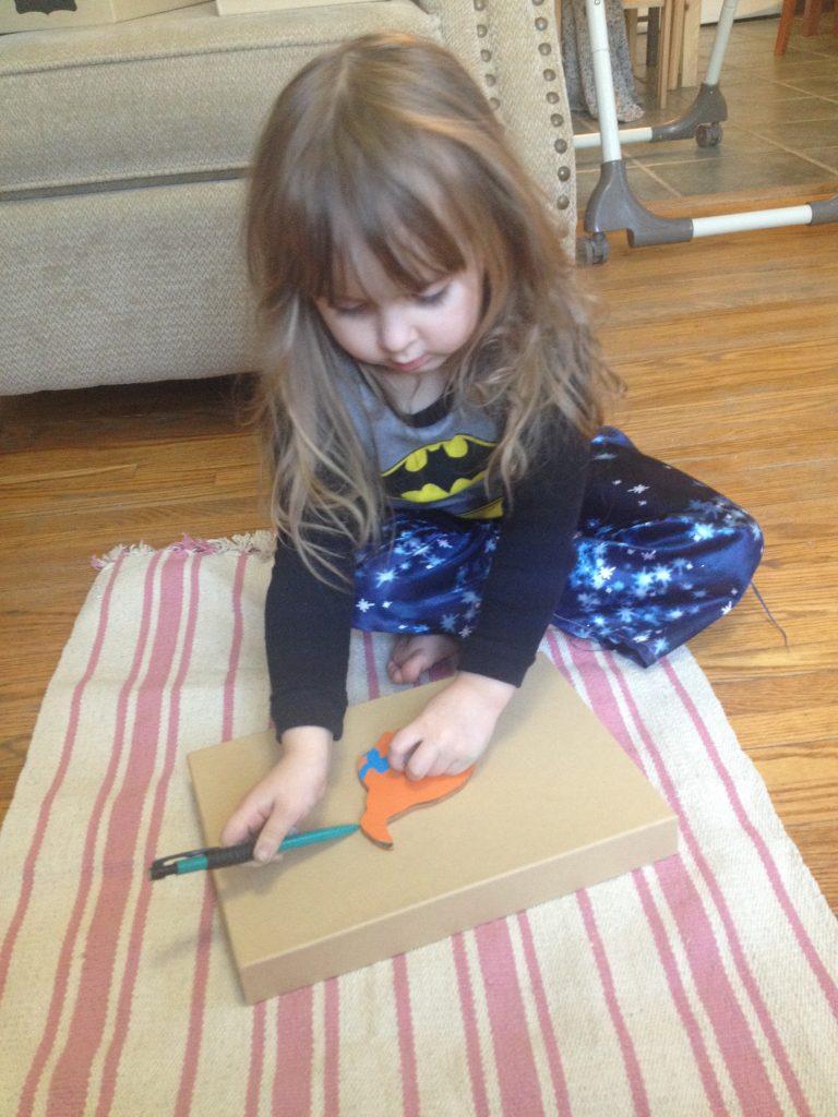 Making DIY Montessori Continent Boxes