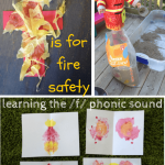 /f/ is for fire: teaching phonic sounds