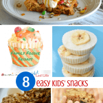 8 Easy Kids' Snacks & The Friday Family Foodie Party!