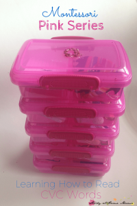 Montessori Pink Series