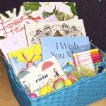 Spring Book Basket Give-away!