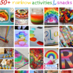 50+ Rainbow Activities and Snacks