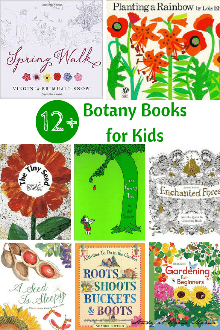 12+ Botany Books for Kids