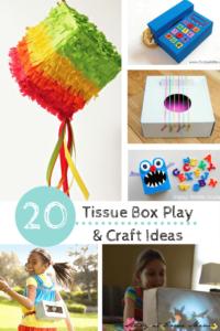 20 Tissue Box Play & Craft Ideas