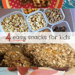 4 Easy Snacks for Kids & the Friday Family Foodie Party!